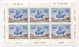 RC 15231 MONACO FEUILLE BERNINI FACIALE = 69FRS = 10,51€ NEUF ** MNH TB - Monaco