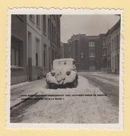FOTO MERTENSSTRAAT BORGERHOUT 1956 / OLDTIMER ONDER DE SNEEUW / ANCIENNE VOITURE SOUS LA NEIGE - Antwerpen