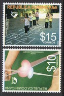 Dominicaine Dominicana 1592/93 UPAEP, Jeux D'enfants - Emissions Communes