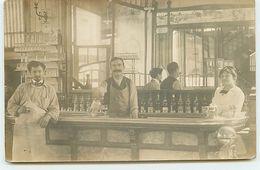 Carte-Photo - Comptoir D'un Café - Cafés