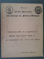 Cercle Archéo-historique Des Cantons De Fléron Et Grivegnée - België