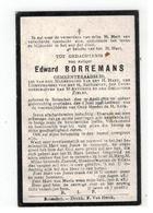 DP Edward BORREMANS Geb. Booischot 1862 Gemeenteraadslid,gestorven Booischot 1926 - Religion & Esotérisme