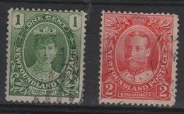 HC 75 - NEW FOUNDLAND - TERRE NEUVE N° 89/90 Obl. - Gran Bretagna (vecchie Colonie E Protettorati)