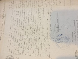 ROCROI Dossier 3 Documents Extrait Mariage Et Naissances 1892 - Famille RIMOGNE MINOT CONSTANT .. - Mariage