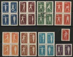 CHINA / CHINE 1952 / 933B....942C (see Description) / Sports, Culture Physique - Neufs