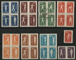 CHINA / CHINE 1952 / 933B....942C (see Description) / Sports, Culture Physique - Ungebraucht