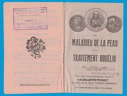 LIVRET MALADIES DE LA PEAU TRAITEMENT BODELIO A. FOURNIER DOCTEUR EN PHARMACIE LORIENT ( M. RENE GUERIN PHARMACIEN ) - Pubblicitari