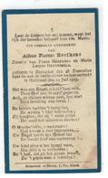 DP Alfons Florent Hoefkens Geb.Booischot 1921 Zoontje V Frans En Maria Leonia BRUYNSEELS,gestorvenHulshout 1923 - Religion & Esotérisme