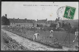 CPA 28 - Pontgouin, Château De La Rivière - Potager - Other Municipalities