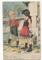 Cpa Humour Gauloiseries Françaises Innocence 289 - Humor