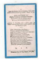 DP Maria Theresia Melania Borgions Geb.Booischot 1917 Dochterken V EDUARD BORGIONS-GORIS,gestorven Booischot 1918 - Religion & Esotérisme