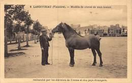 20-876 : LANDIVISIAU. MODELE DE CHEVAL DE TRAIT BRETON. CHEVAUX. CHEVAL. - Landivisiau