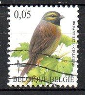 BELGIQUE. Timbre Oblitéré De 2005. Bruant Zizi. - Songbirds & Tree Dwellers