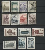 CHINA / CHINE 1954/1955 N° 100 To 1007 + 1019 To 2023 + 1032 ** (MNH). Value/Cote : 39.6 € - Neufs