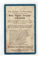 DP Maria Angelina Seraphina VAN EGDOM Geb.Pijpelheide 1907, Gestorven Booischot 1913 - Religion & Esotérisme