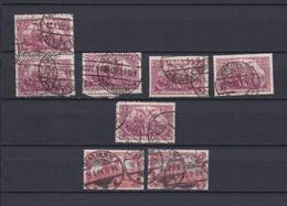 Deutsches Reich - 1902/1920 - Michel Nr. 78+115 - Gest. - Gebraucht