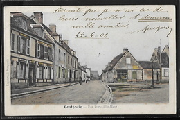 CPA 28 - Pontgouin, Rue Porte D'En-Haut - Other Municipalities