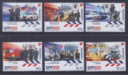 Singapore 2020 Commemorating 200 Years Of Policing MNH - Police - Gendarmerie