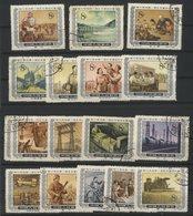 CHINA / CHINE 1955/1956 N° 1036 To 1047 + 1049 + 1051 To 1053. Value/Cote : 8.5 € - 1949 - ... République Populaire