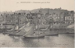 Panorama Pris Du Port - Honfleur