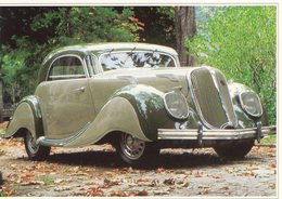 Panhard Type 140 Dynamique  (1938)  -  Carte Postale Modern - Passenger Cars