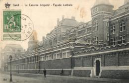 BELGIQUE - FLANDRE ORIENTALE - GENT - GAND - La Caserne Léopold - Façade Latérale. - Gent
