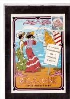 TEM10880  -    2° SALONE INT.LE DELLA CARTOLINA D'EPOCA  /    RICCIONE   24.8.1986 - Esposizioni Filateliche