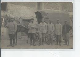 RUSSY   Infirmerie Veterinaire Carte Photo Animee Avec Attelage 1916 - France