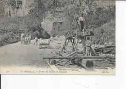 LA BOUILLE    Entree Des Grottes De Caumont 1905 - La Bouille