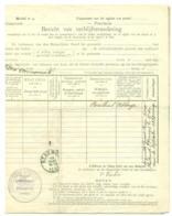 Changement Résidence 1905. Grand Rieu. Bersillies Obl. Beaumont Caët. - Marcophilie