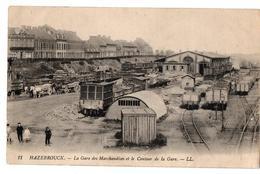 HAZEBROUCK GARE DE MARCHANDISES TRAINS TRES ANIMEE - Hazebrouck