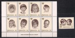 Rwanda Ruanda 1979 OCBn° 927-935 *** MNH Cote 10 Euro Jaar Van Het Kind Année De L' Enfant - 1970-79: Neufs