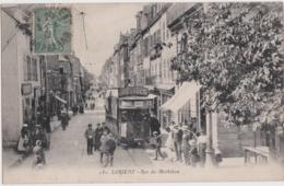 Bv - Cpa LORIENT - Rue Du Morbihan (tramway) - Lorient