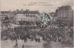 Bv - Cpa LORIENT - La Place Alsace Lorraine - Lorient
