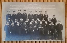 Unsere Helden, Die Mannschaft Des U-Bootes U26 Mit Ihrem Kommandanten, Stempel Kaiserl. Marine SMS Von Der Tann - War 1914-18