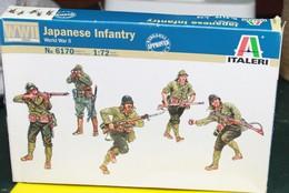Modèle Réduit ITALERI 1/72 Japaneese Infantry WWII - Militaria