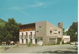 418  11 QUILLAN  CARTE PUBLICITAIRE HOTEL RESTAURANT  LA PIERRE LYS  P. RULLAC  Propriétaire  (Renault 4L, Parasols) - Autres Communes