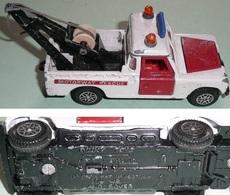 Rare Ancien Véhicule Miniature DINKY Toys Dépanneuse LAND ROVER Motorway Rescue - Jouets Anciens