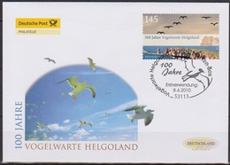 BRD FDC 2010 Nr.2793 100 Jahre Vogelwarte Helgoland ( D2695)günstige Versandkosten - [7] Federal Republic