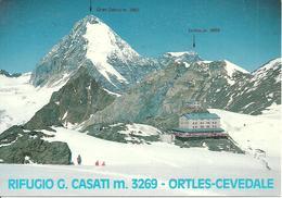Rifugio Gianni Casati - Alessandro Guasti (Sondrio) Valfurva, Ortles E Gran Zebrù Sul Fondo - Sondrio