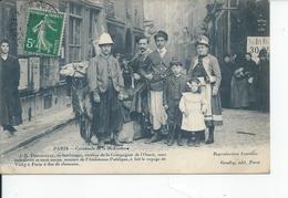 PARIS Cavalcale De La Mi-careme  DOUSSINEAU Ex Boulanger 1911 - France