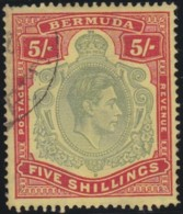 Bermuda    .    SG        .   118e      .      O        .    Cancelled      .   /   .    Gebruikt - Great Britain (former Colonies & Protectorates)