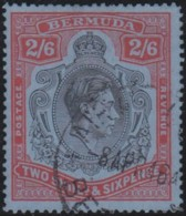 Bermuda    .    SG        .   117a   .  Perf. 14½     .      O        .    Cancelled      .   /   .    Gebruikt - Great Britain (former Colonies & Protectorates)