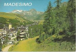 Madesimo (Sondrio) Scorcio Panoramico Dalla Pineta, Panoramic View, Vue Panoramique - Sondrio