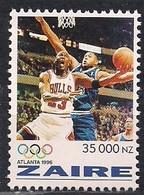 Zaire 1996 Ocbn° 1495 *** MNH Basketball Jeux Olympiques Atlanta Olympische Spelen - Zaïre