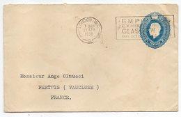 Grande Bretagne - 1938--Lettre De Londres Pour PERTUIS-84 (France) ......timbre 2 1/2 Penny   Seul Sur  Lettre - 1902-1951 (Kings)
