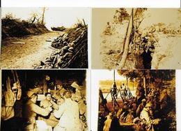22 PHOTOS Sur La Guerre 14-18 - War, Military
