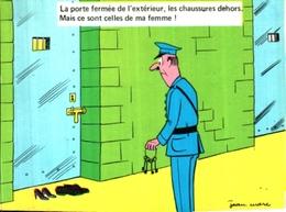 Illustrateur Jean Marc, Prison Cocu, Les Chaussures De Ma Femme - Illustrateurs & Photographes