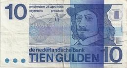 Pays Bas 10 Gulden 1968 - [2] 1815-… : Regno Dei Paesi Bassi