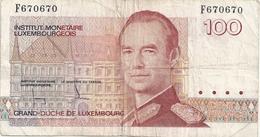 Luxembourg 100 Francs - Lussemburgo